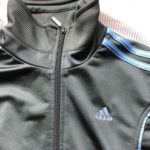 Grey Adidas Small Track Jacket